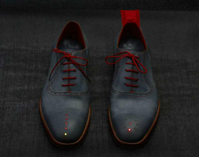 GPS обувки