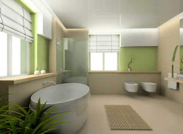 пролетна баня
