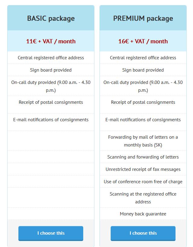 виртуален офис цени